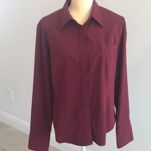 Express shirt red size 13/14 like a large